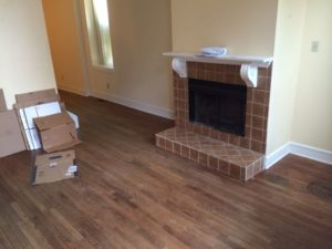 Old Fireplace and hearth