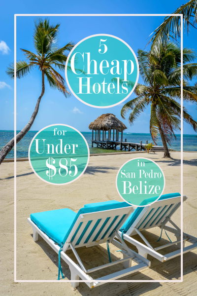 These hotels are cheap and in the middle of paradise!